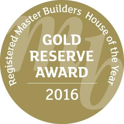 Registered Master Builders House of the Year 2016 Gold Reserve Award